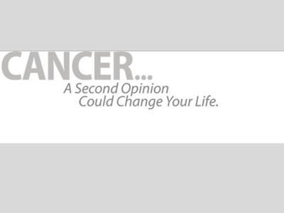 second opinion for a cancer diagnosis