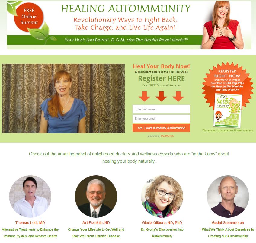 the healing autoimmunity summit