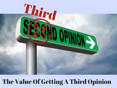 The value of getting a third opinion