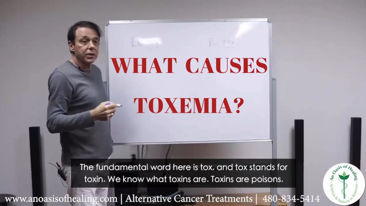 what causes toxemia