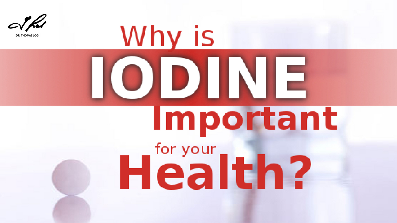 What Is Iodine Used For In The Body